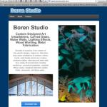 Boren Studio Website image