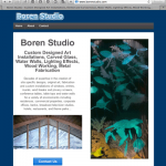 Boren Studio Website image