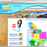 South Bay Rentals website image